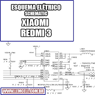 Esquema Elétrico Smartphone Celular Xiaomi Redmi 3 Manual de Serviço   Service Manual schematic Diagram Cell Phone Xiaomi Redmi 3      Esquematico Smartphone Celular Xiaomi Redmi 3