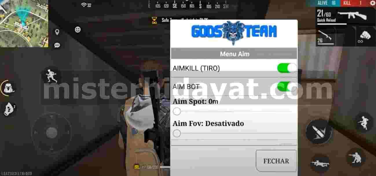 Free Fire Godsteam Apk Terbaru Auto Kill Anti Banned