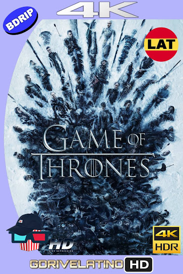 Game of Thrones Temporada 08 BDRip 4K HDR Latino-Ingles MKV