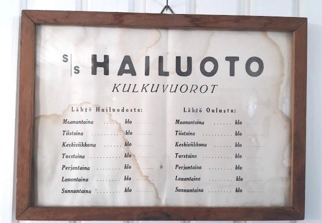 Höyrylaiva Hailuoto viettää eläkepäiviään Varjakassa Lumijoella