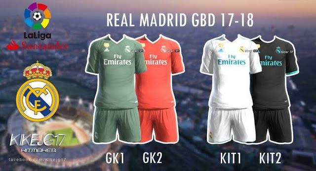 Real Madrid Kit PES 2013