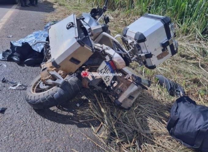 Veterinário morre em grave acidente registrado na BR-364