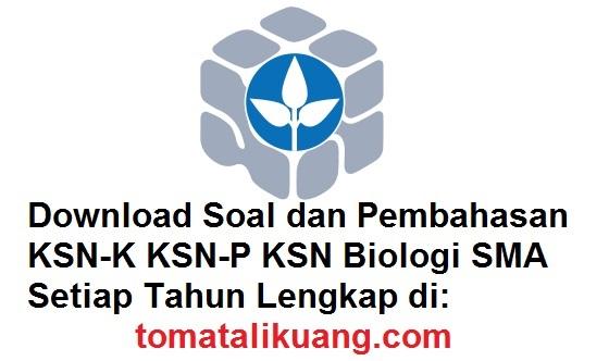 soal pembahasan ksn osn biologi sma tahun 2020 tomatalikuang.com