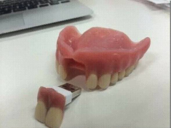USB Teeth stick