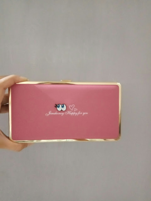 Jims Honey Abbey Wallet warna hot pink