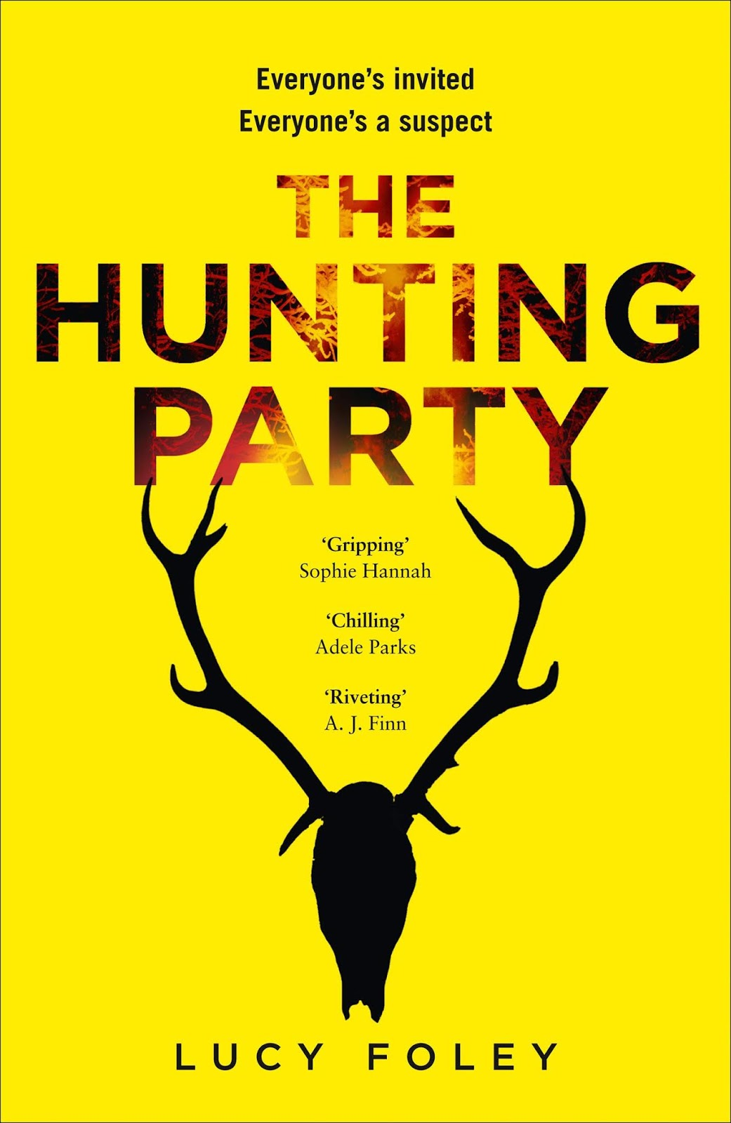 Book cover for The Hunting Party by Lucy Foley The Hunting Party in the South Manchester, Chorlton, Cheadle, Fallowfield, Burnage, Levenshulme, Heaton Moor, Heaton Mersey, Heaton Norris, Heaton Chapel, Northenden, and Didsbury book group