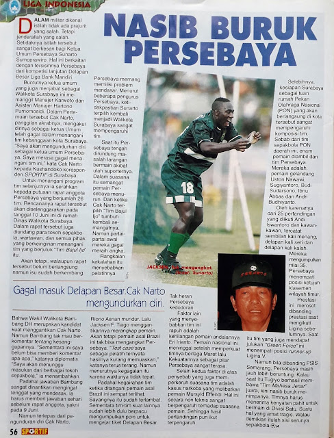 LIGA INDONESIA: NASIB BURUK PERSEBAYA