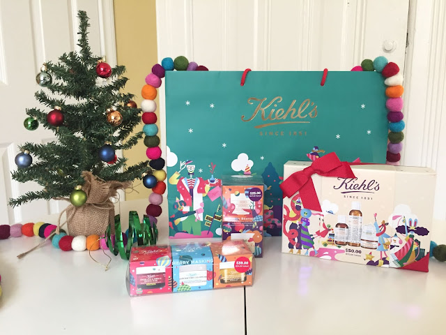 Kiehl's and Feeding America Holiday Gift Sets | Will Bake for Shoes