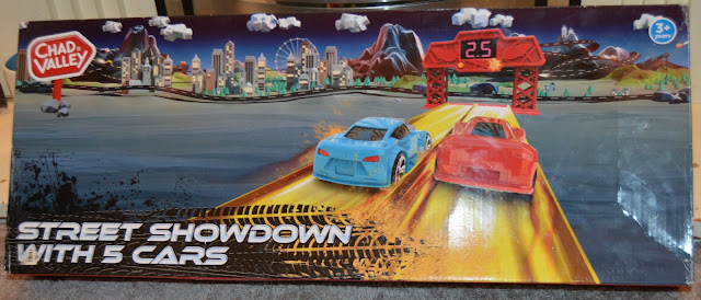 Chad Valley Street Showdown Racing Track Box