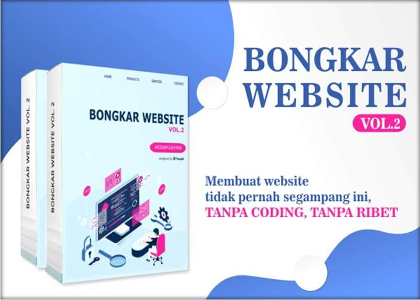 Bongkar Website