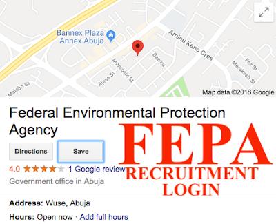 2018 FEPA Recruitment Portal