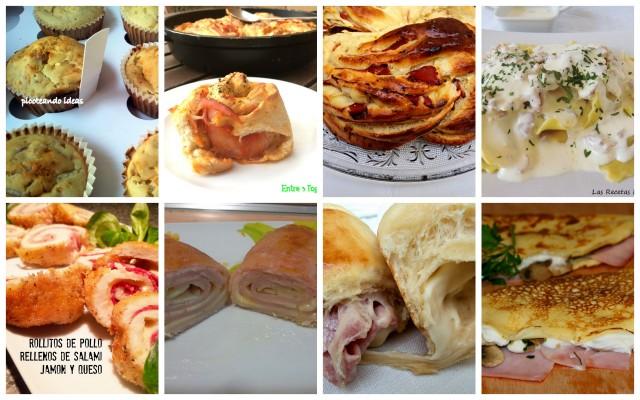 La cocina de masito 8 recetas de jamon y queso 2 parte for Que cenar rico