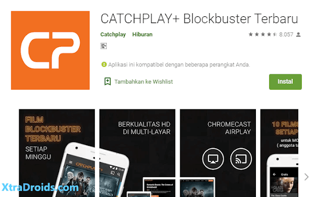 Aplikasi Catchplay+