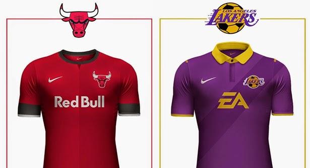 369a1b89bc As camisas de futebol dos times da NBA ~ Arena Esporte ...