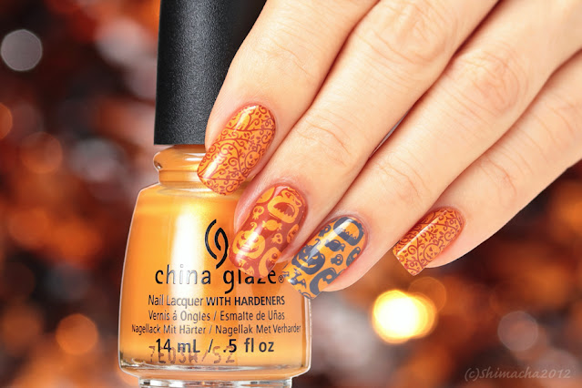 halloween nails uber chic beauty