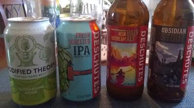 Deschutes Beer lineup