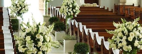 Imagen De Arreglos Florales Para Boda En La Iglesia