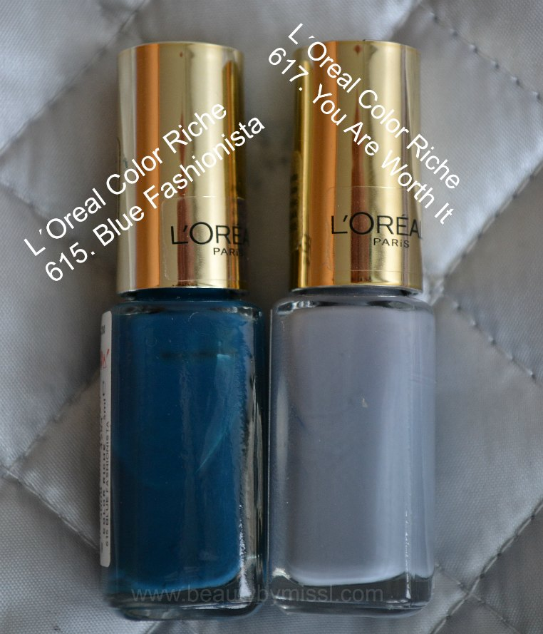 615 Blue Fashionista, 617 You Are Worth it