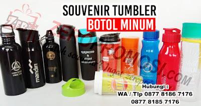 Souvenir Tumbler plastik, tumbler stainless, tumbler insert paper, tumbler infus water, botol minum, mug, termos, food jar, vacuum flask
