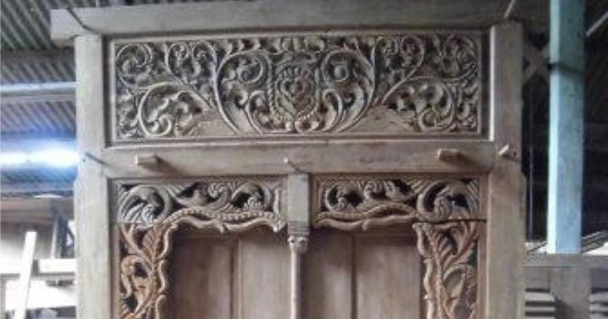 Kayu Lawasan Rumah  Furnitur Klasik Antik Natural PINTU  JENDELA