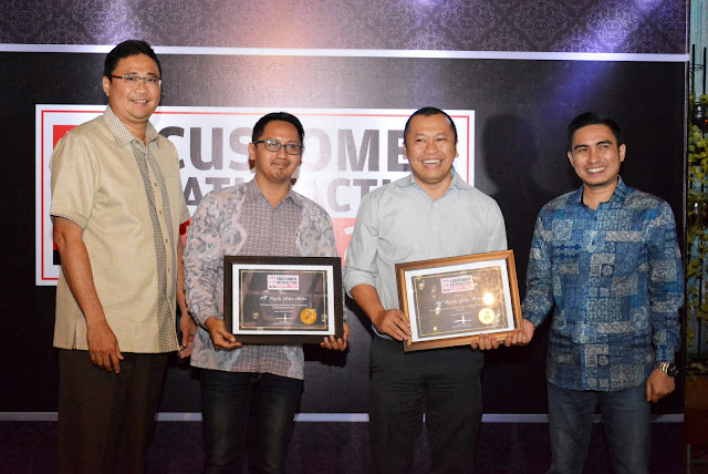Toyota Indonesia Customer Satisfaction Award (ICSA) 2016 dan Indonesia Customer Satisfaction Survey (CSS) 2016.