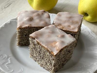 Ciasto z makiem i lukrem