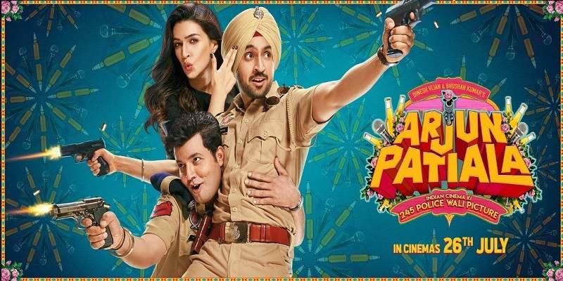 Arjun Patiala Screen Count Advance Booking Report Poster