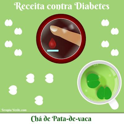 Receita Contra Diabetes: Chá de Pata-de-vaca