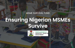 Apply for Federal Government N75Bn MSME Survival Fund for Small business & Self-employed