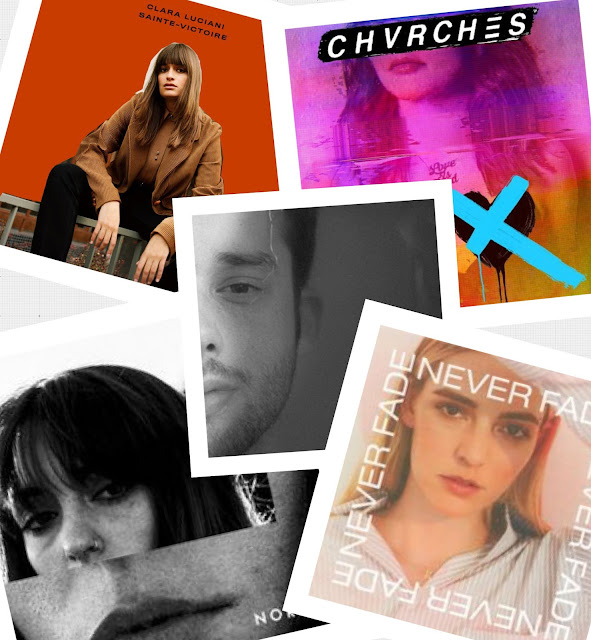 Clara Luciani - CHVRCHES - Jaymes Young - Sasha Sloan - Katelyn Tarver