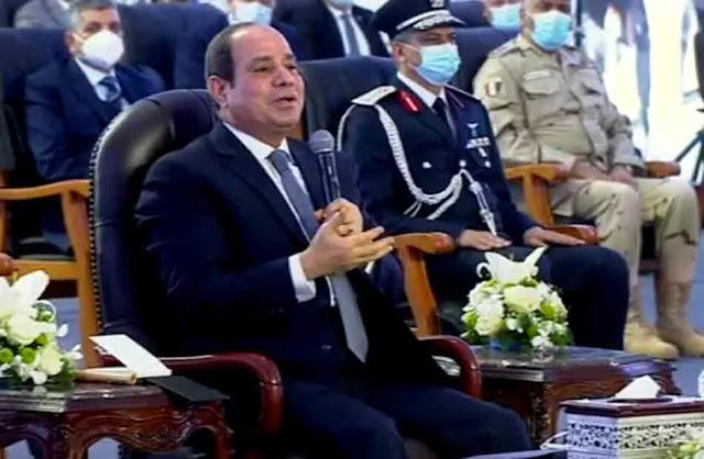 """الرئيس  السيسي """"كلامنا موجود على أرض الواقع ومش بنبيع الوهم"""""""
