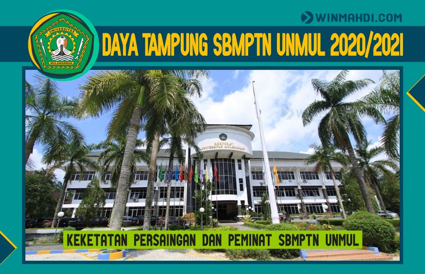 DAYA TAMPUNG SBMPTN UNMUL 2020-2021