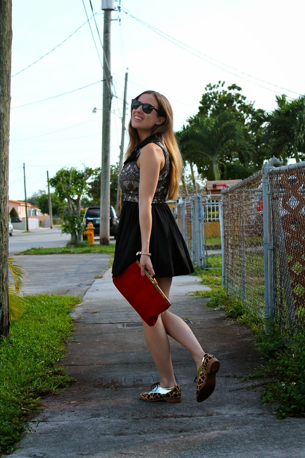 Fall trends, fall fashion, fashion blog, Miami fashion blogger, Ray-Ban, vintage, LF Stores, Anthropologie, cheetah print oxfords, Kate Spade, outfit ideas, street style, outfit inspiration, style inspiration, style blog, lifestyle blog