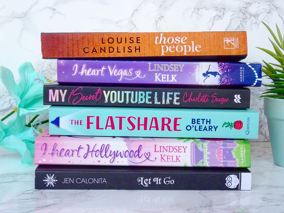 6 New Books On My TBR Shelf