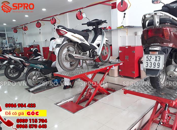 Tư vấn thiết bị sửa chữa xe máy và setup 1 hệ thống head Honda