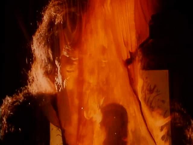 Purana Mandir Saamri burning scene