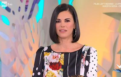 Bianca Guaccero bellissima conduttrice Detto Fatto