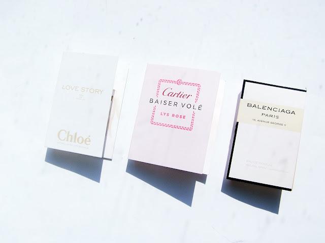 Szybka trójka: Chloe Love Story, Balenciaga Paris 10. Avenue George V, Cartier Baiser Vole Lys Rose