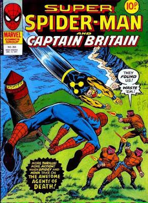 Super Spider-Man and Captain Britain #253, Nova