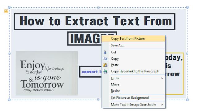 Cara Konversi Ubah Gambar Jadi Teks Mudah
