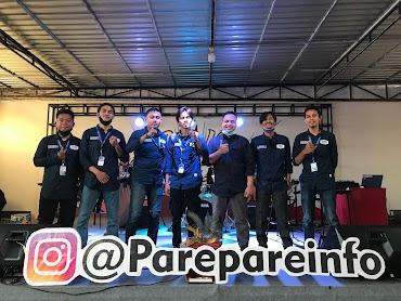 Para Petinggi Padweb Corp Hadiri Launching Aplikasi dan Website Parepare Informasi