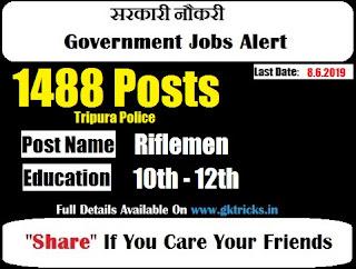 Tripura Police Riflemen