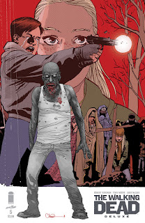 The Walking Dead Deluxe - Connecting variant covers by Charlie Adlard