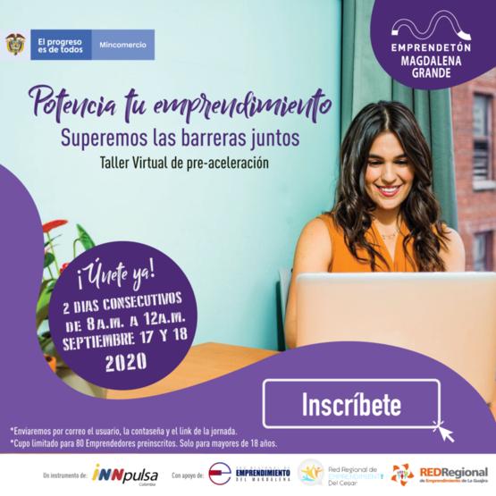 Emprendedores a participar en 'Emprendetón Magdalena Grande': CámComercio