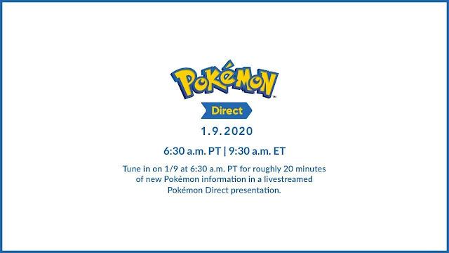 Pokémon Direct Janeiro 2020