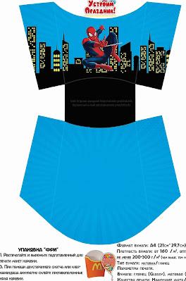 Spiderman: Free Printable Mini Kit.
