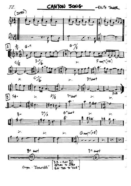 Partitura Flauta Ralph Towner