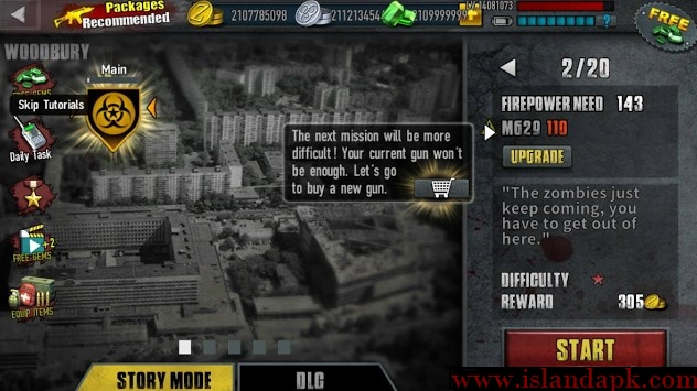 Download Zombie Frontier 3 Shot Target Apk Mod v1.81 ( Unlimited Money )