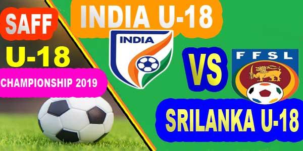 India U18 vs Srilanka U18 Live