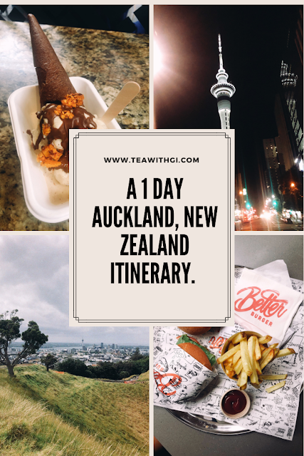 auckland itinerary tea with gi